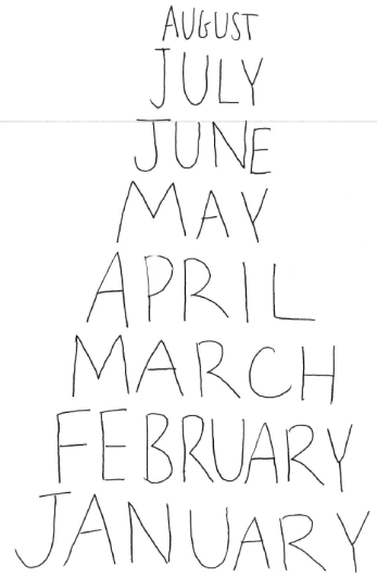 monthsvertical